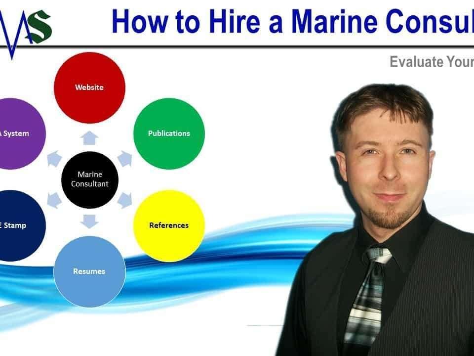 How to Evaluate Marine Consultant
