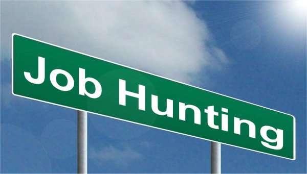 Job Hunting Sign