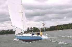 Sailboat at Hull Speed