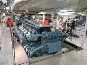 Ferry Engine Room