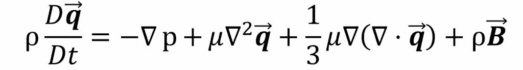 The Full Navier Stokes Equation