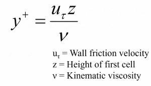 Formula for Y+