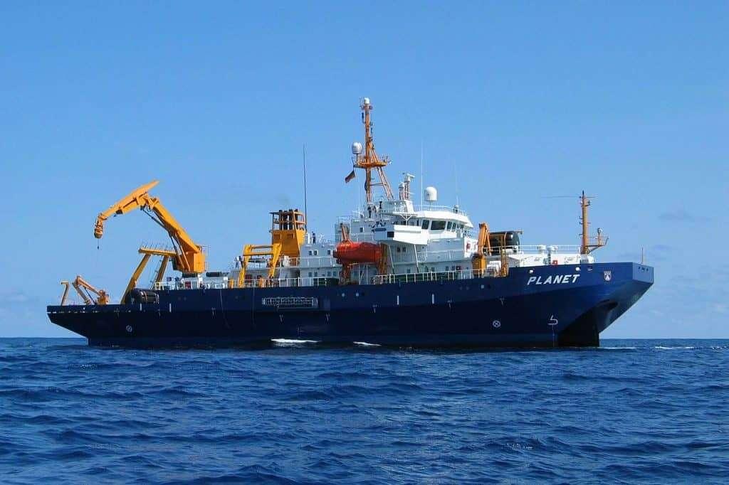 SWATH Research Ship